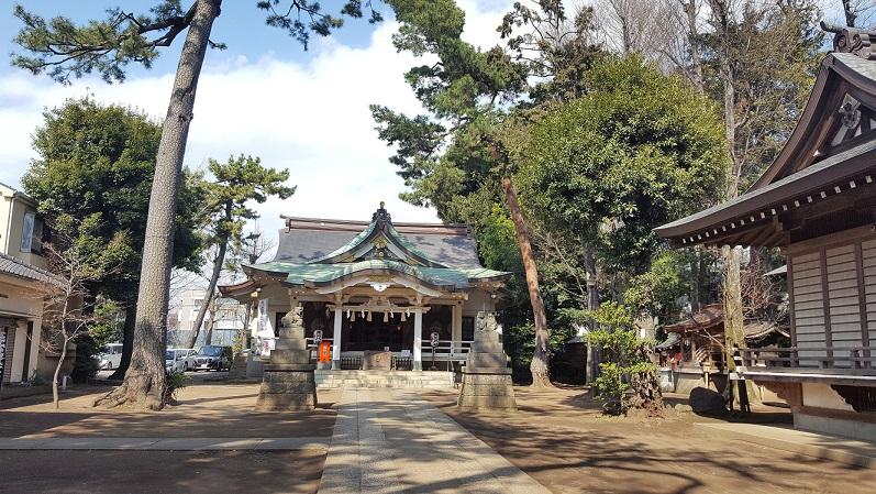 荻窪街歩き   ~天沼八幡神社~